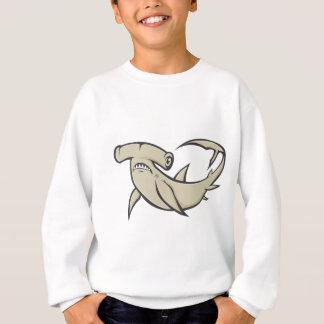 Serious Hammerhead Shark Sweatshirt