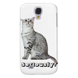 Seriously? Kitty Galaxy S4 Case