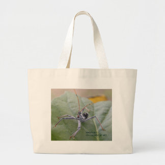 Seriously you looking at me? large tote bag