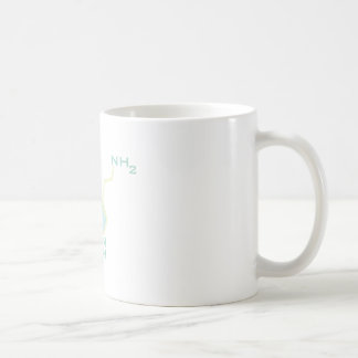 Serotonin Chemical Structure Basic White Mug