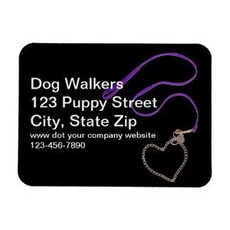 Serpentine Purple Dog Leash Flexible Magnet