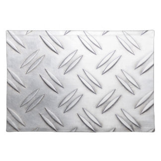 Serrated sheet background placemat
