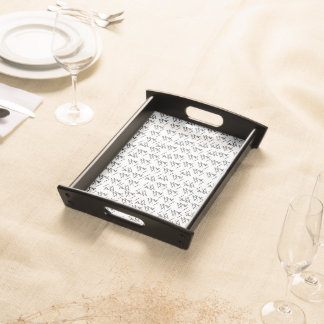 "Serving Tray ""Scribbles"""