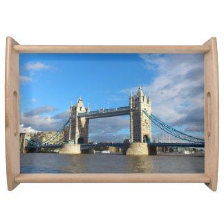 Serving Trays- Tower Bridge London. Serving Tray
