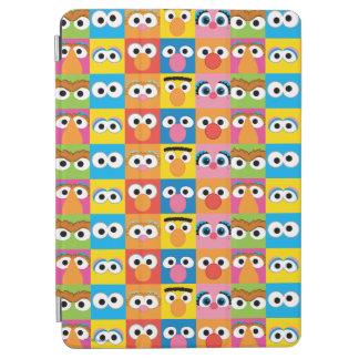 Sesame Street Character Eyes Pattern iPad Air Cover