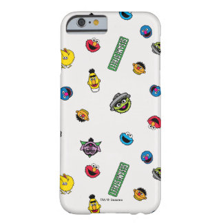 Sesame Street Character Pattern Barely There iPhone 6 Case