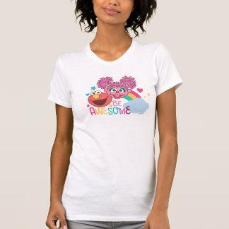 Sesame Street | Elmo & Abby - Be Awesome T-Shirt