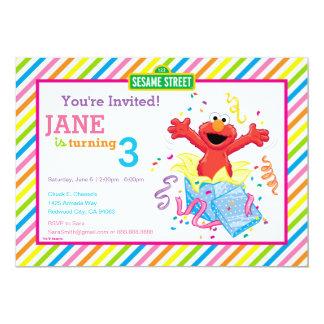 Sesame Street   Elmo Girl's Birthday Card