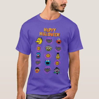 Sesame Street Pals - Happy Halloween! T-Shirt
