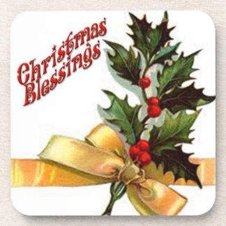 Set of 6 Christmas Blessings Coasters