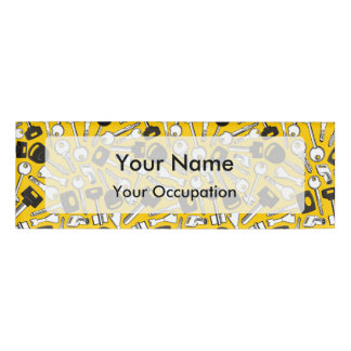Set of Keys Background Name Tag