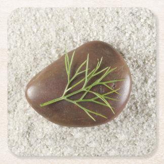 Set of Six Rock, Sand & Seaweed Coasters