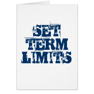 SET TERM LIMITS CARD