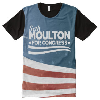 Seth Moulton All-Over Print T-Shirt