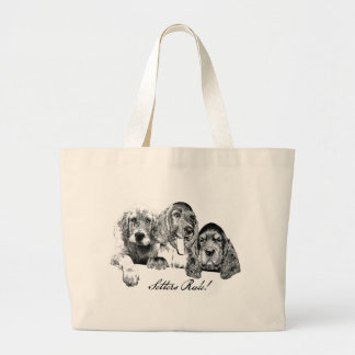 SettersRule Large Tote Bag