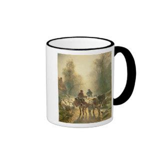 Setting off For Market Coffee Mug