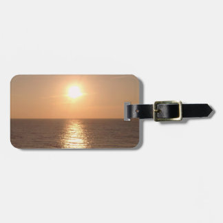 Setting Sun Luggage Tag