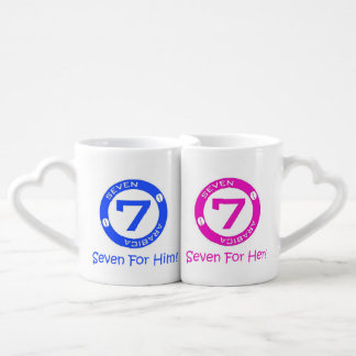 Seven Arabica his and her cups