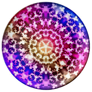 Seven Chakras Spiritual Healing Plate