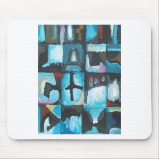 Seven Deadly Sins ( abstract symbolism art) Mouse Pad