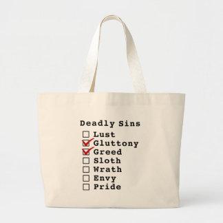 Seven Deadly Sins Checklist (0110000) Bag