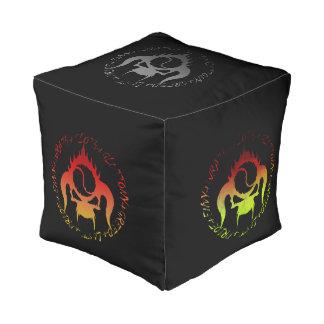 seven deadly sins cubed pouf