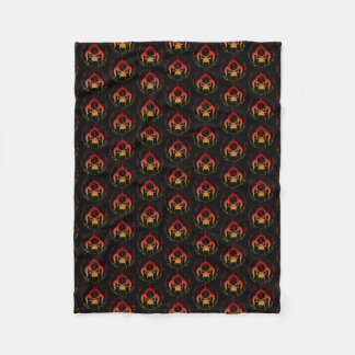 Seven deadly sins custom fleece blanket