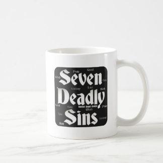 Seven Deadly Sins Logo Basic White Mug