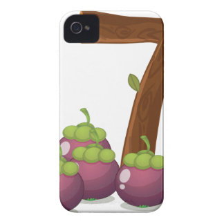 Seven eggplants iPhone 4 Case-Mate case