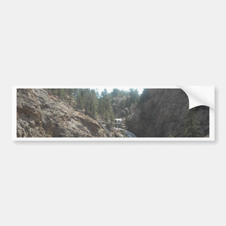 seven falls bumper sticker
