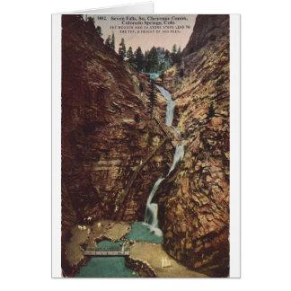 Seven Falls, South Cheyenne Cannon Card