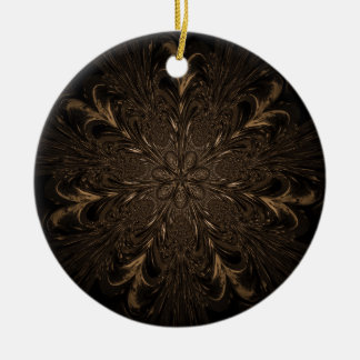 Seven Feathered Wheels Christmas Ornament