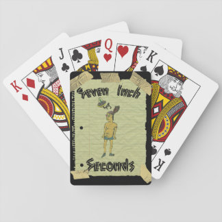Seven Inch Seconds playing cards