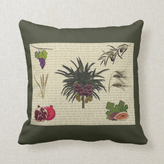 Seven Species Cushion