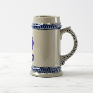 Seven Swords Mugs and Steins - Blue Emblem