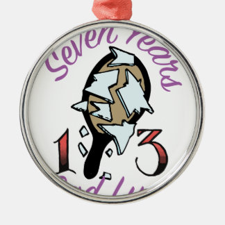 Seven Years Christmas Ornament