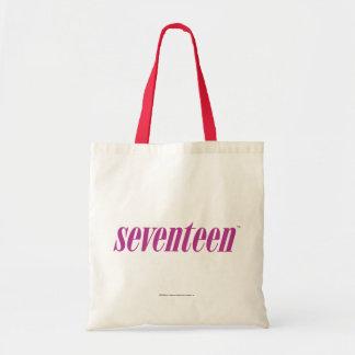 Seventeen  Logo-Purple Tote Bag