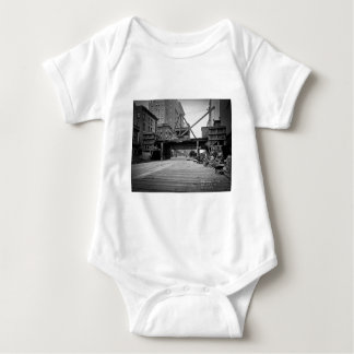 Seventh Avenue and 53rd Street New York City Photo Baby Bodysuit
