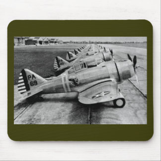 Seversky P-35 Vintage WWII Fighter Planes Mouse Pad