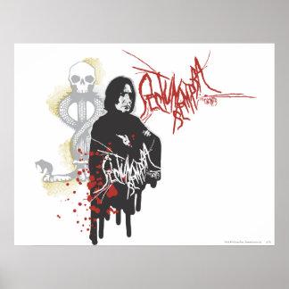 Severus Snape Sectum Sempra Poster