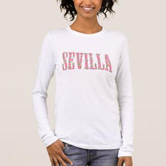SEVILLE t-shirt. Mosaic of arabesque of Morocco Long Sleeve T-Shirt