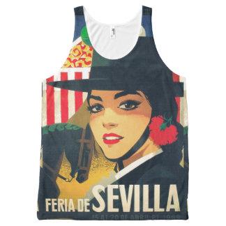 Sevillian april fair All-Over print singlet