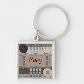Sewing Enthusiast Key Ring