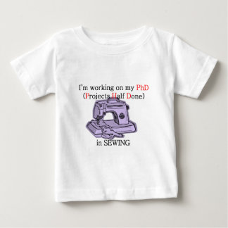 Sewing PhD T Shirts