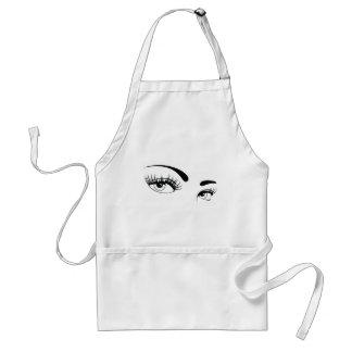 sexy-female-eyes-vector standard apron