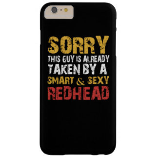 SEXY REDHEAD BARELY THERE iPhone 6 PLUS CASE
