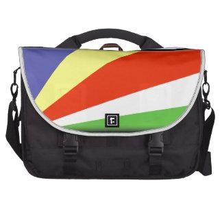 Seychelles Flag Laptop Computer Bag