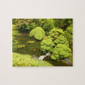 SF Japanese Tea Garden Pond #6 Jigsaw Puzzle