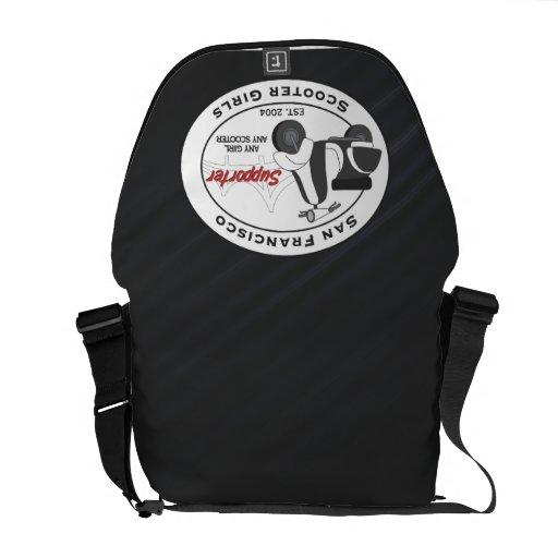 SFSG Supporter Custom Messenger Bag  BlackStripes