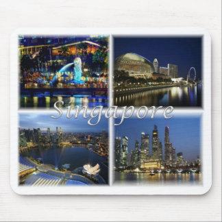 SG Singapore - Mouse Pad